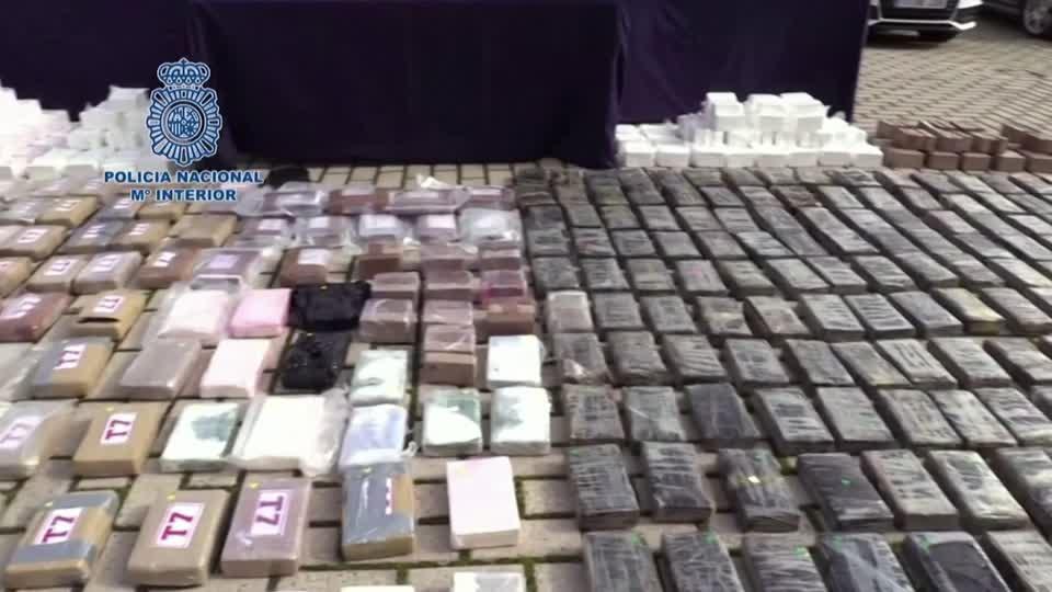 Police arrest biggest cocaine gang in Madrid