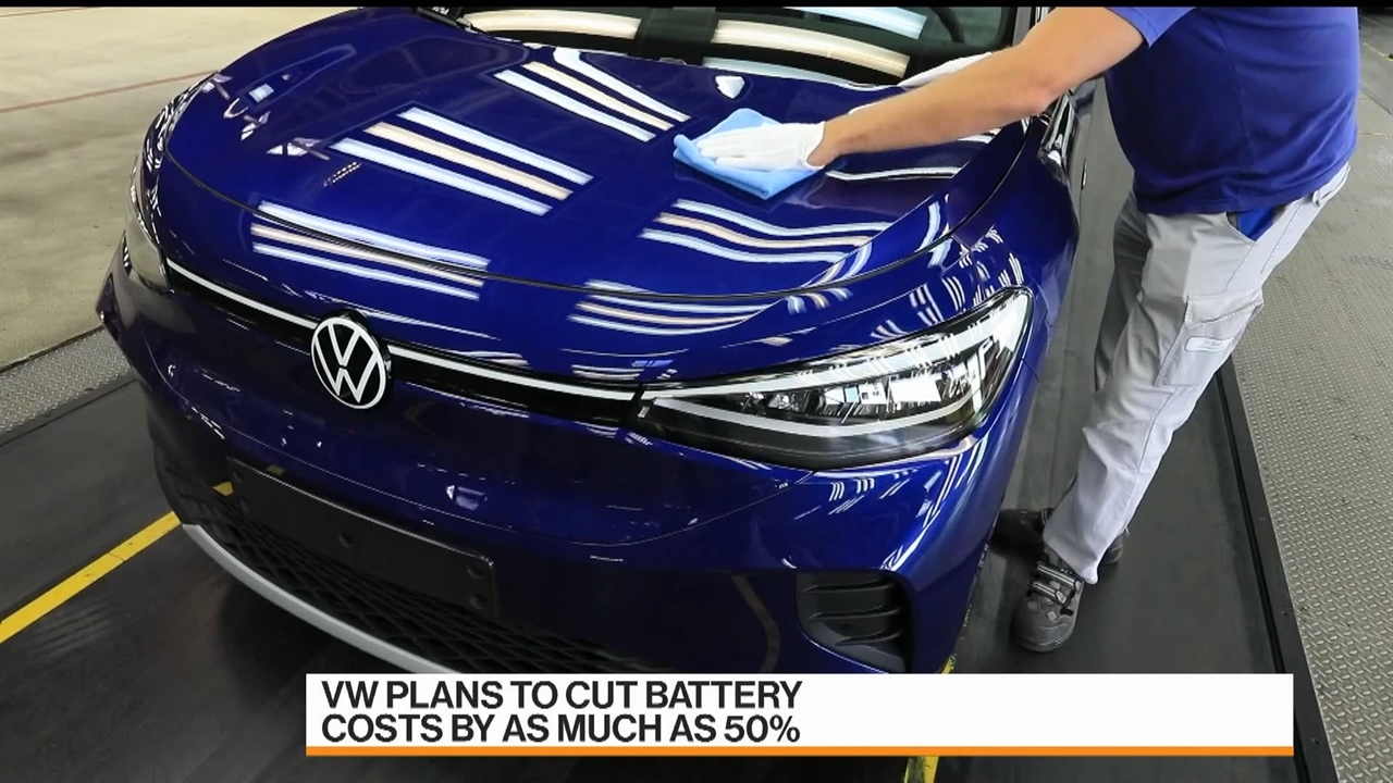 Volkswagen Takes on Tesla With Battery Push