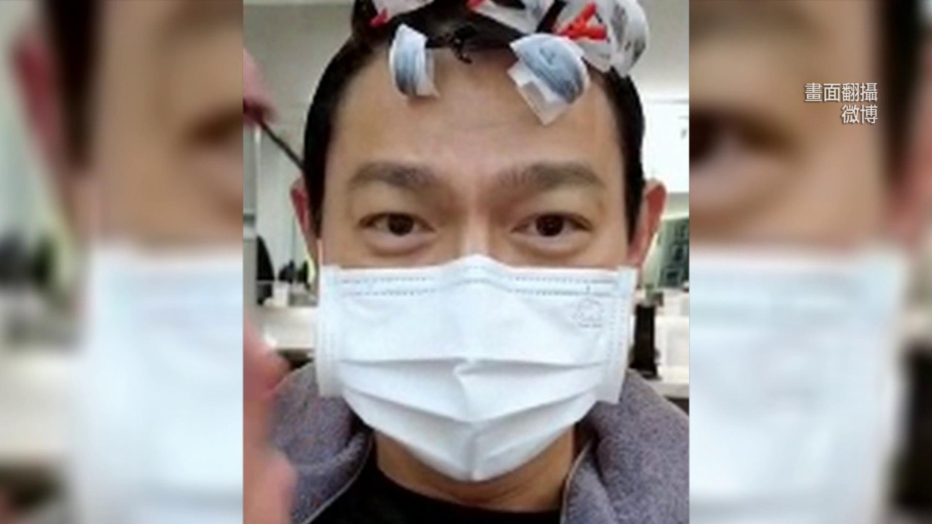 天王劉德華曝光「燙髮」過程! 髮線竟然依舊濃密