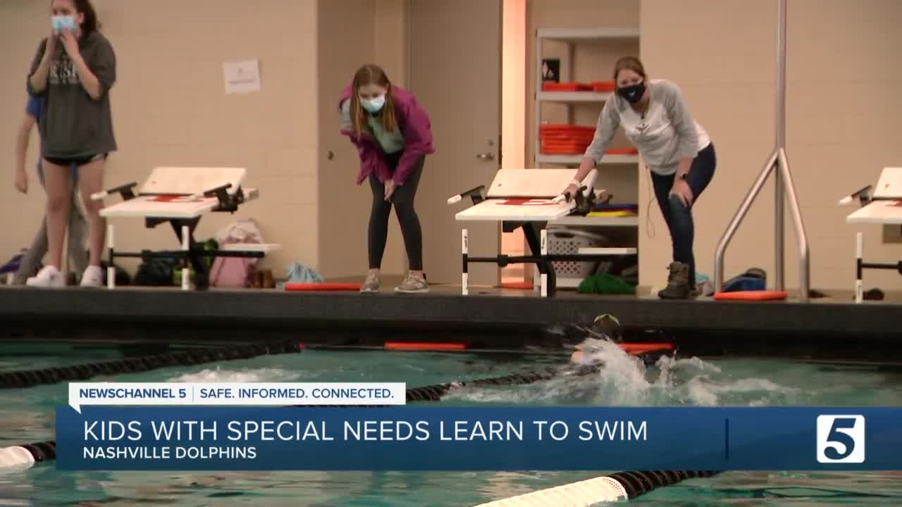 Nashville Dolphins provides outlet for kids with special ...