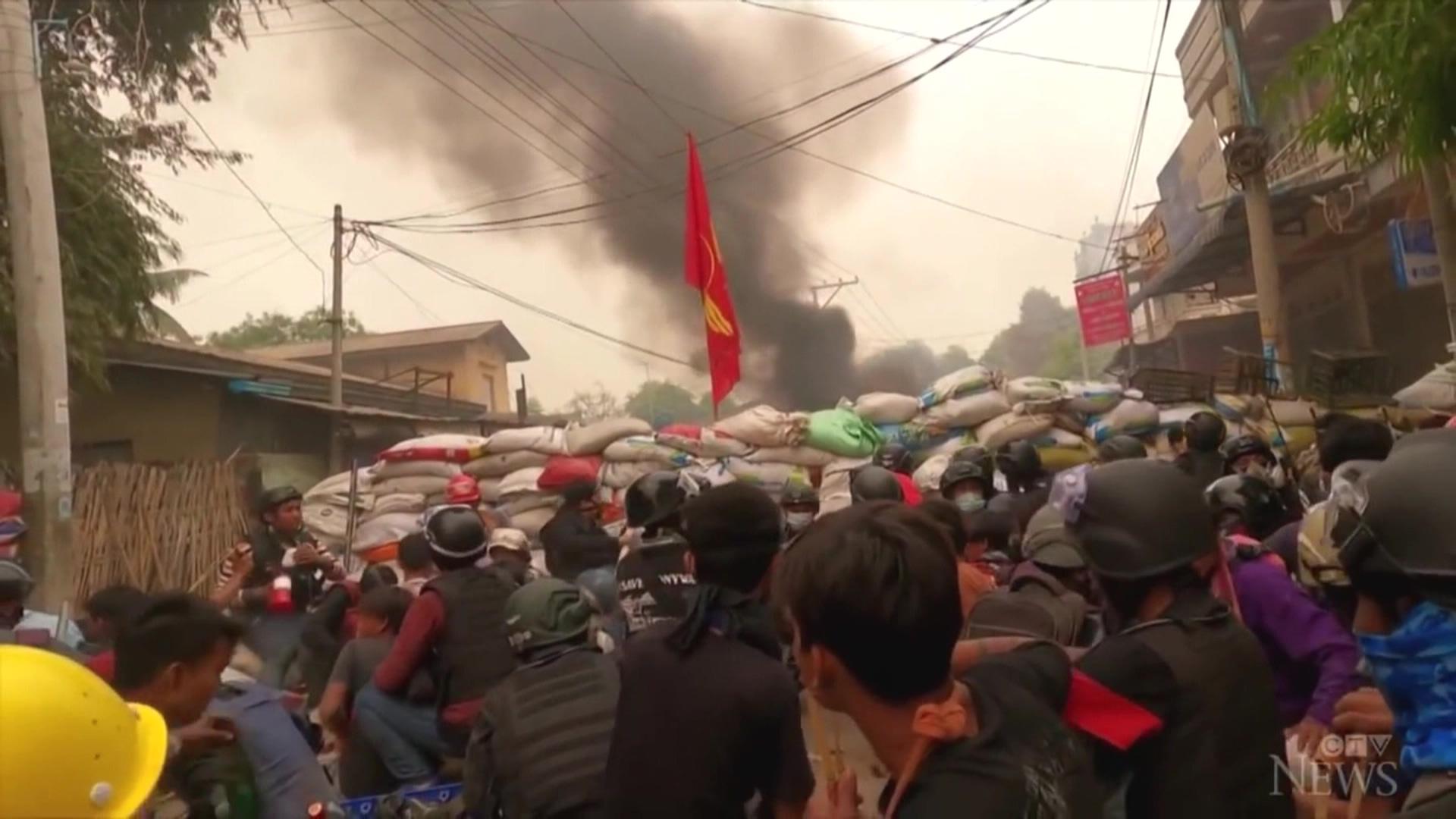 奪459命! 緬甸軍政府血腥鎮壓升級 美制裁開首槍「停貿易」