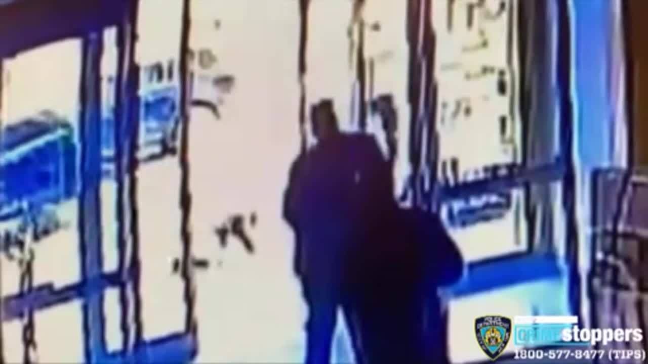news.yahoo.com: Attack on Asian-American woman seen on CCTV footage released by NYPD