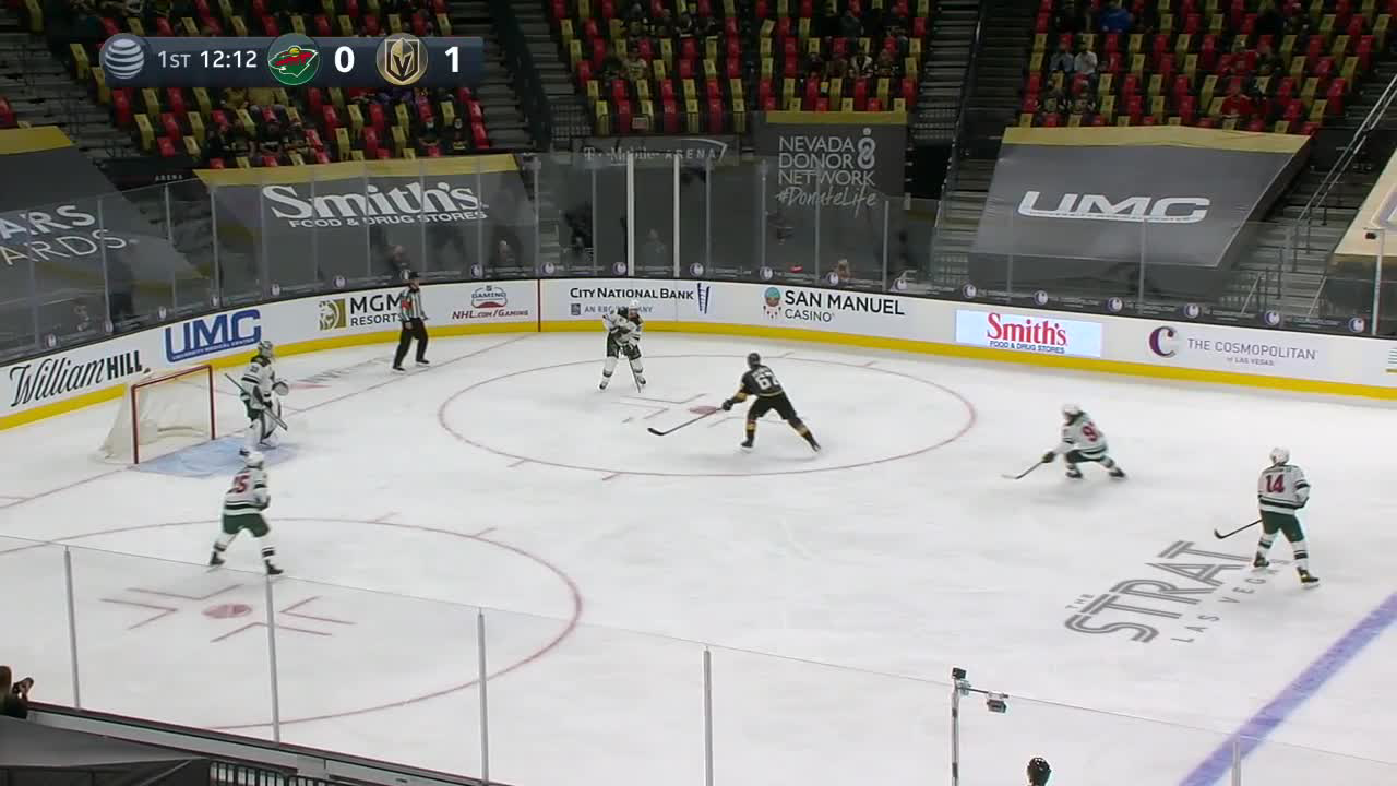 Kirill Kaprizov with a Goal vs. Vegas Golden Knights
