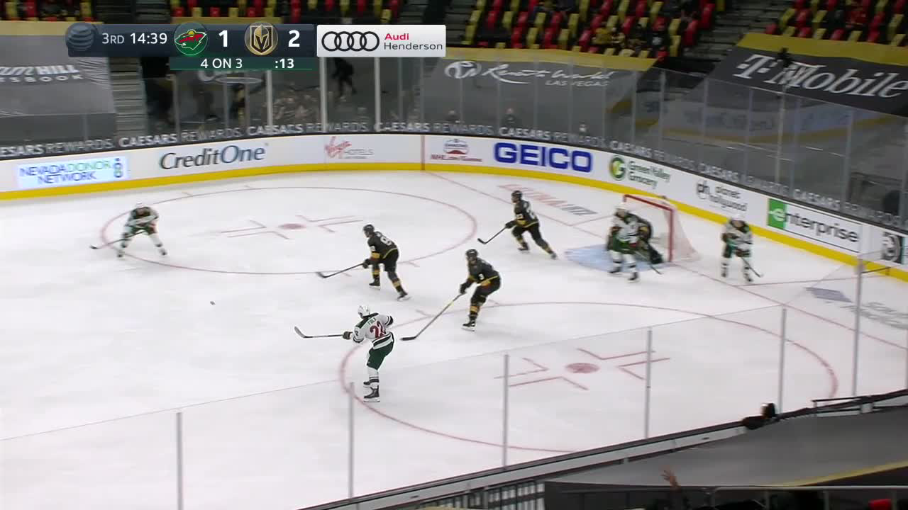 Jared Spurgeon with a Goal vs. Vegas Golden Knights