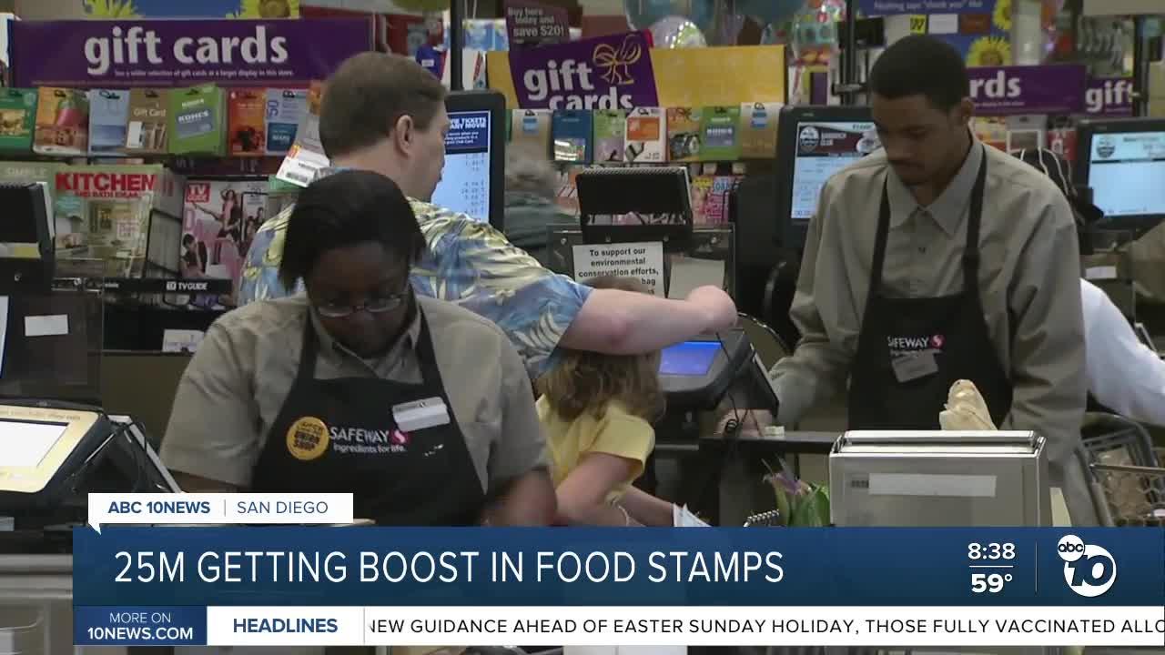 news.yahoo.com: Food stamps boost