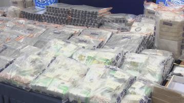 警方檢獲9.3億多元懷疑可卡因 相信由南美入境