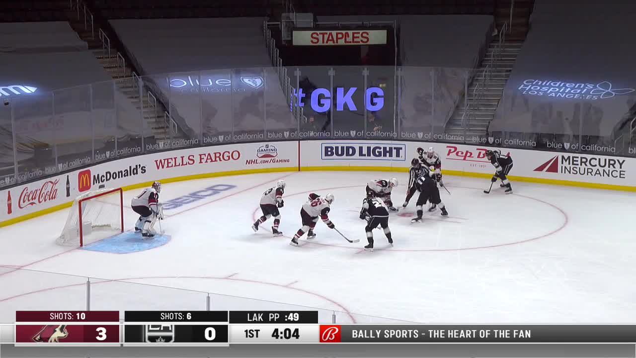 Drew Doughty with a Goal vs. Arizona Coyotes
