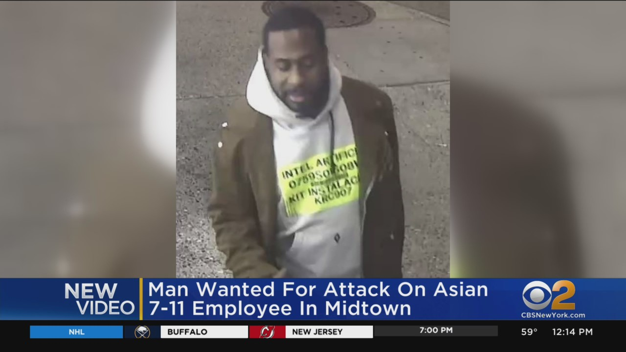 news.yahoo.com: Police: Suspect Wanted In Attack On Asian Employee At Midtown 7-Eleven