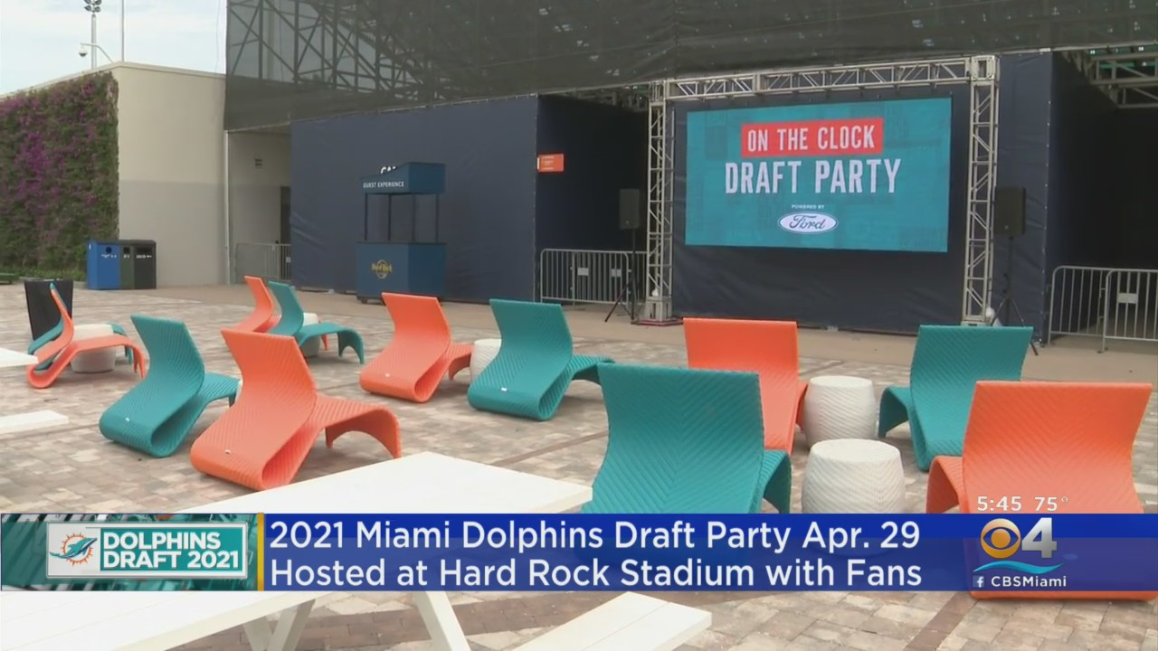 news.yahoo.com: Dolphins To Host Live NFL Draft Party At Hard Rock Stadium