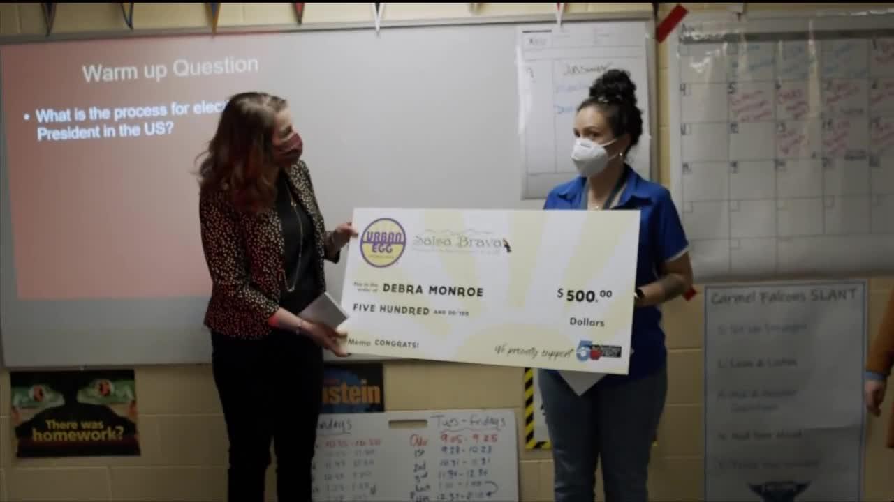 news.yahoo.com: Debra Monroe is April's Teachers First award winner