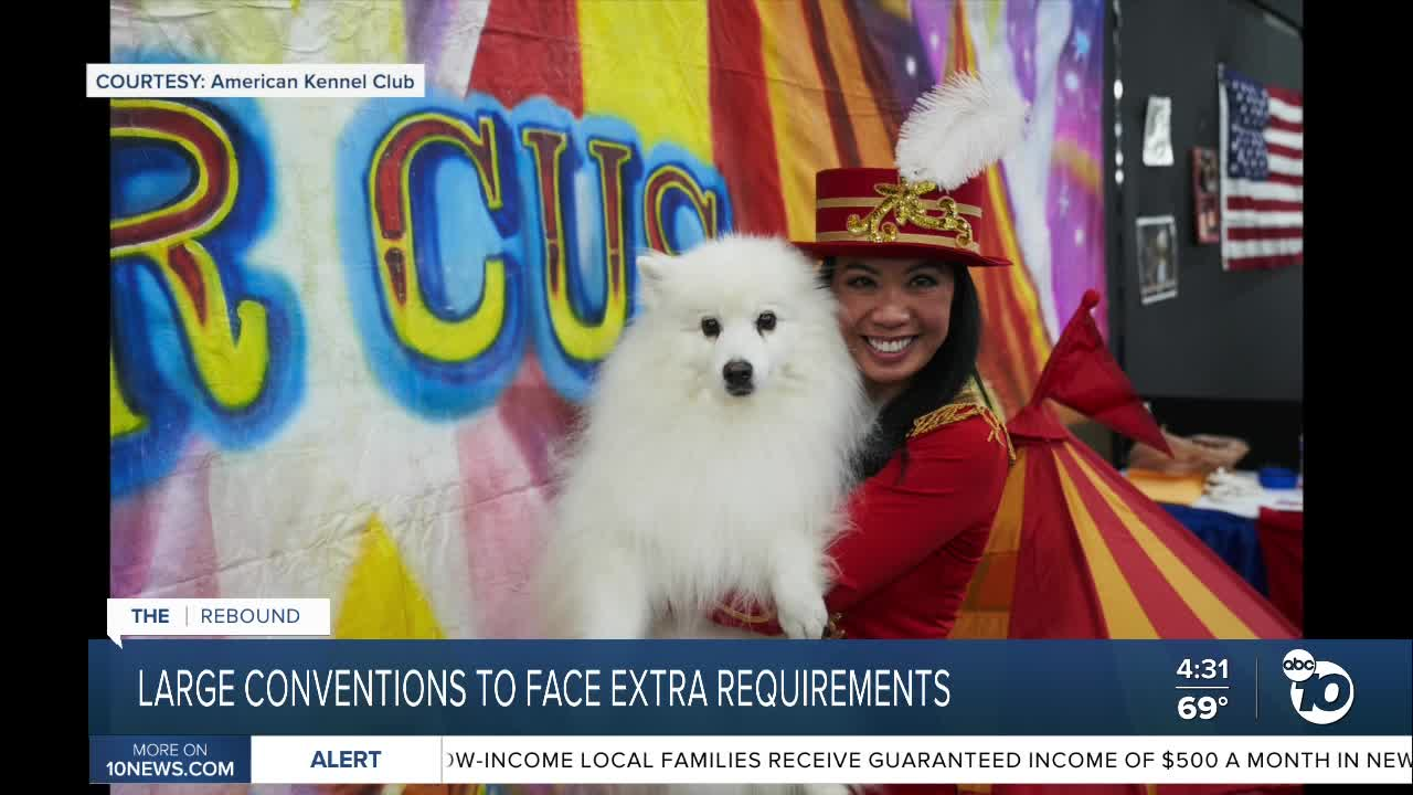 news.yahoo.com: Largest conventions to have additional requirements