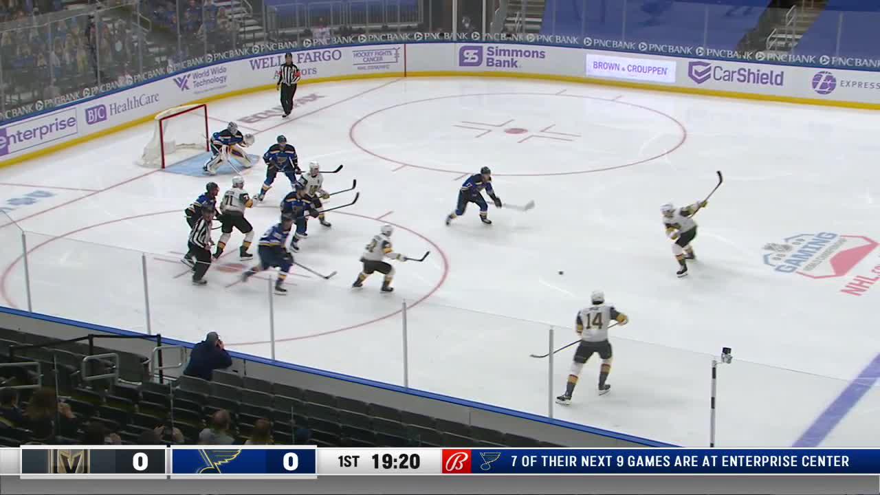 Vladimir Tarasenko with a Goal vs. Vegas Golden Knights