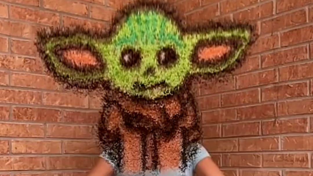 news.yahoo.com: Texas Mom goes viral on TikTok for her incredible rice art