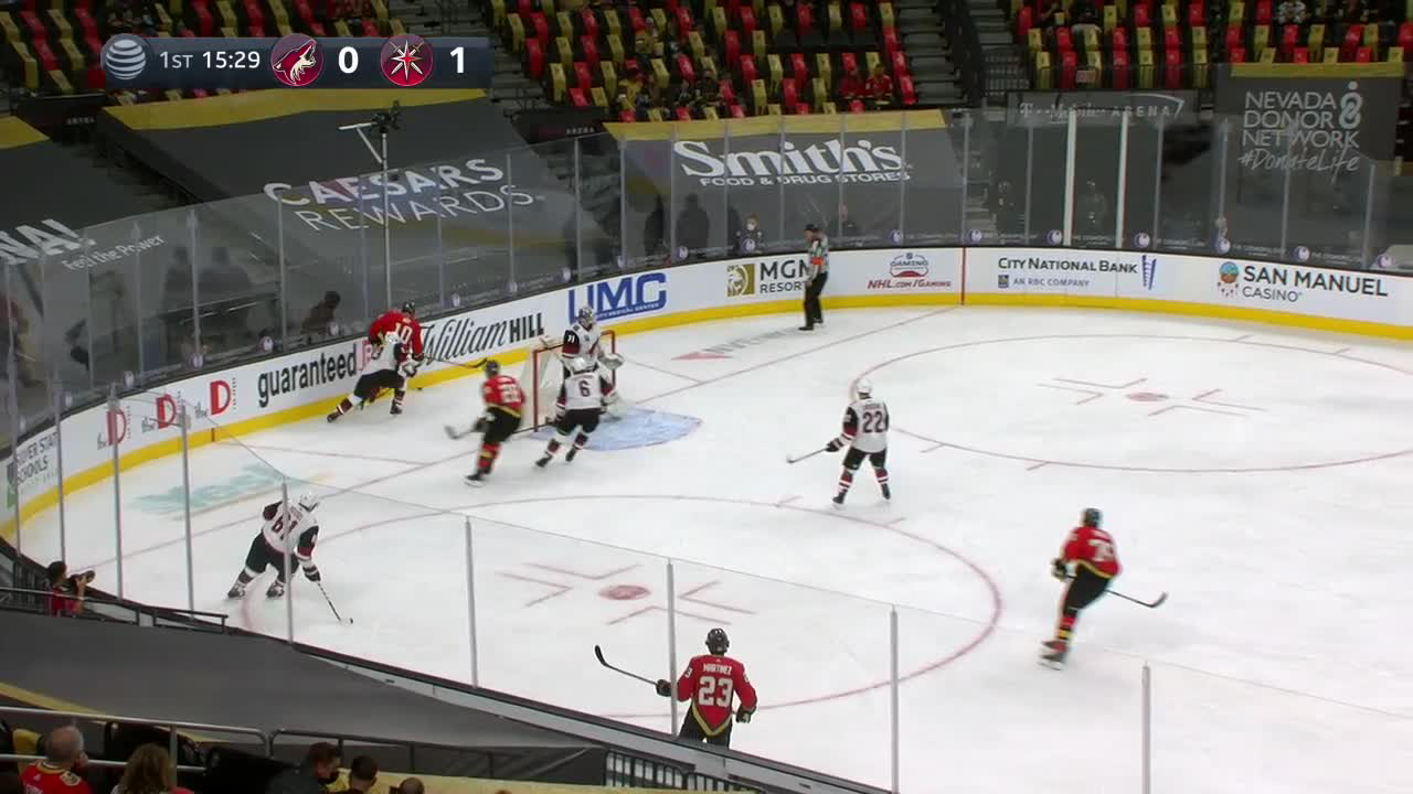 William Carrier with a Goal vs. Arizona Coyotes