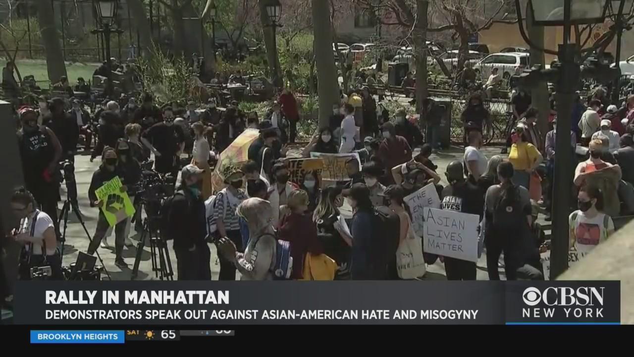 news.yahoo.com: Demonstrators Speak Out Against Anti-Asian Hate, Misogyny