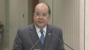 張建宗:應以宏觀角度全盤理解國家安全