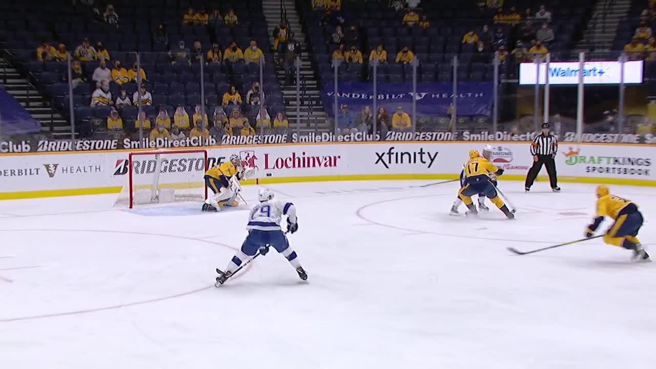 Nashville Predators vs. Tampa Bay Lightning - Game Highlights