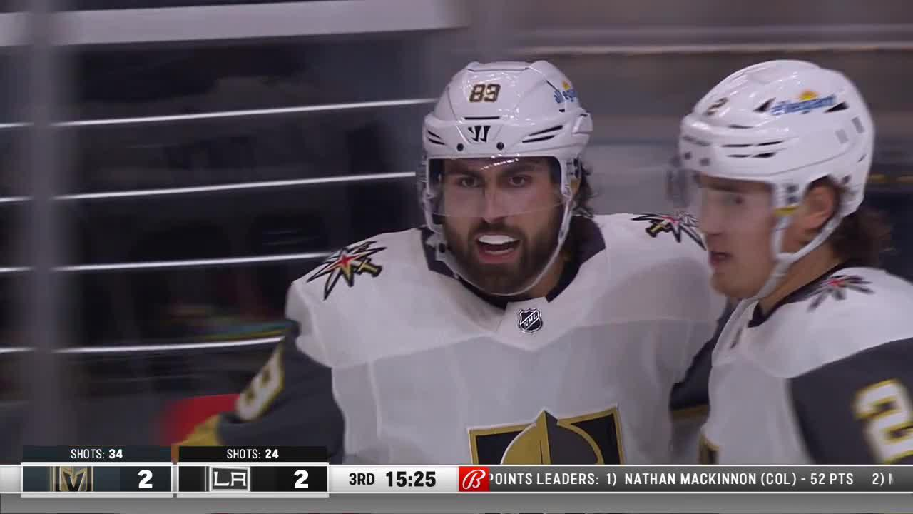a Spectacular Goal from Los Angeles Kings vs. Vegas Golden Knights