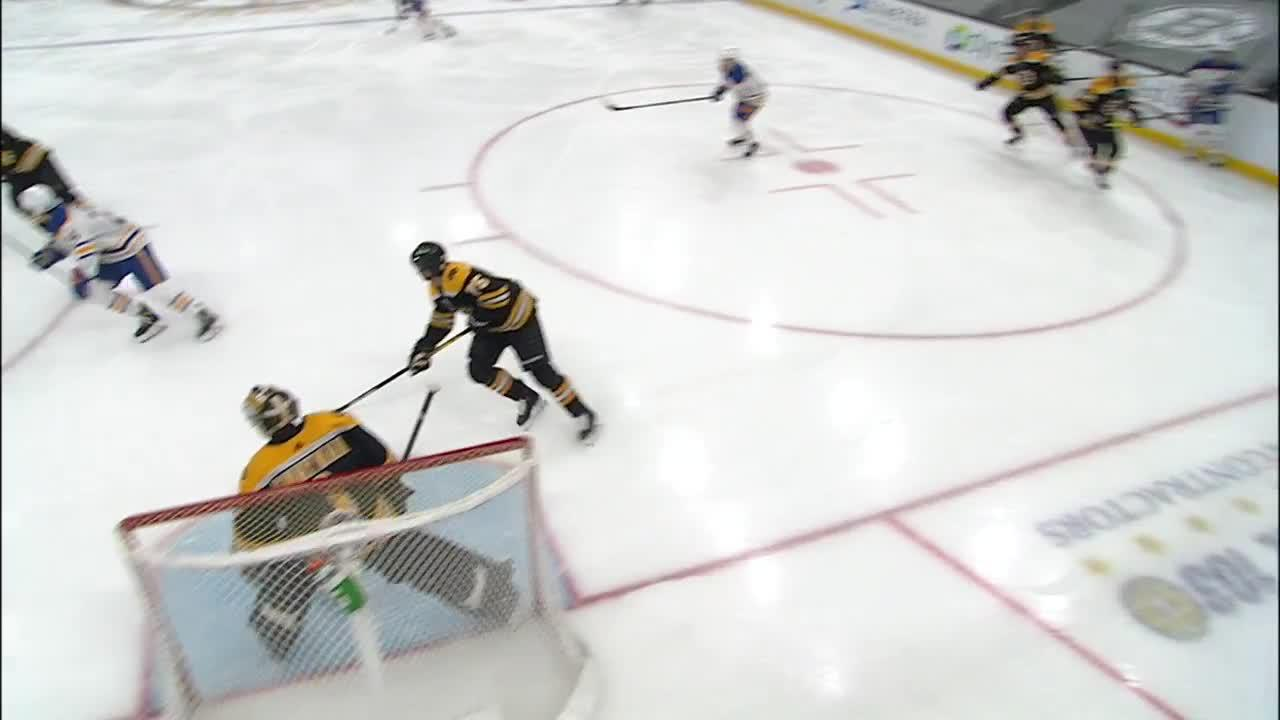 Colin Miller with a Goal vs. Boston Bruins