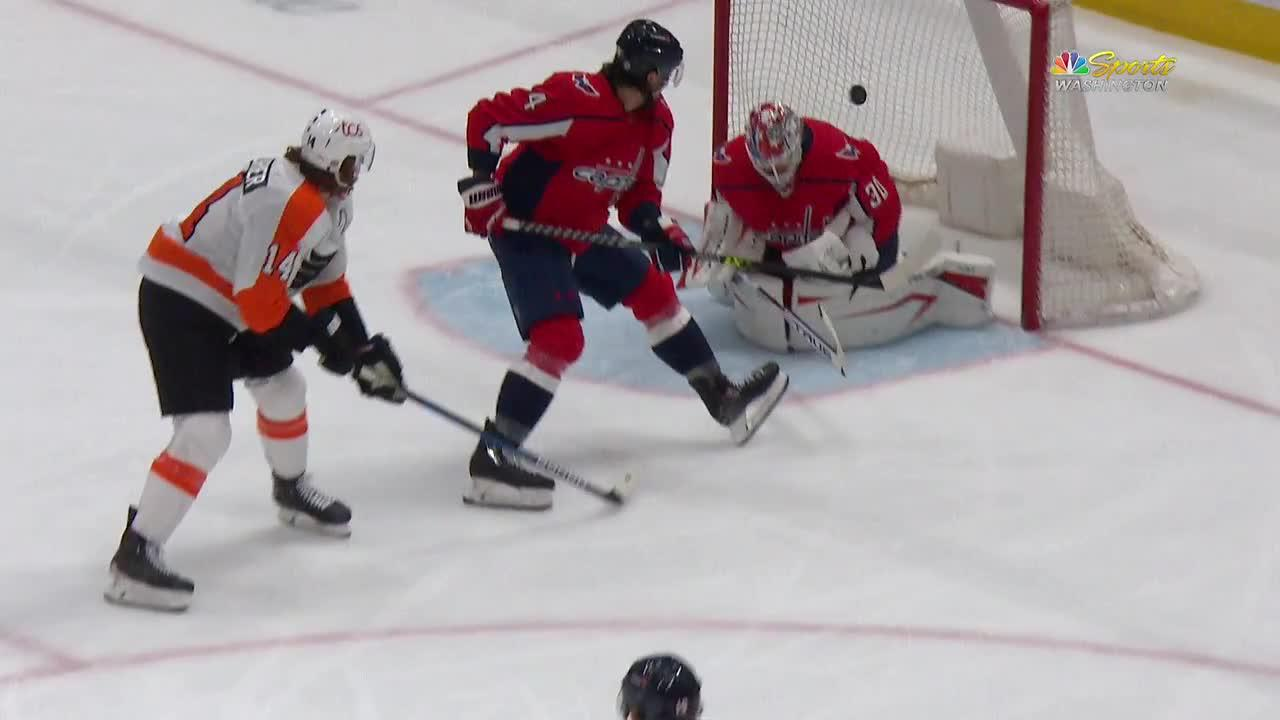 Sean Couturier with a Goal vs. Washington Capitals