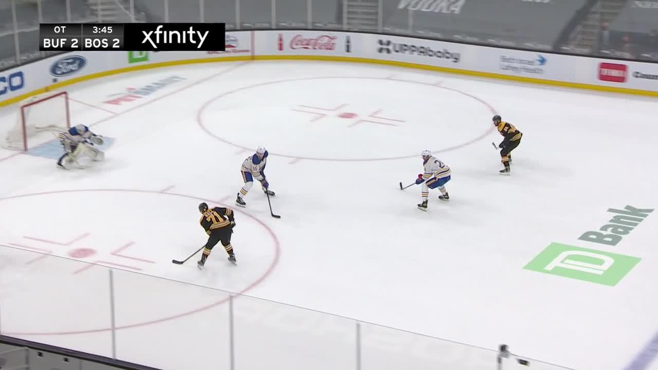 a Goalie Save from Boston Bruins vs. Buffalo Sabres