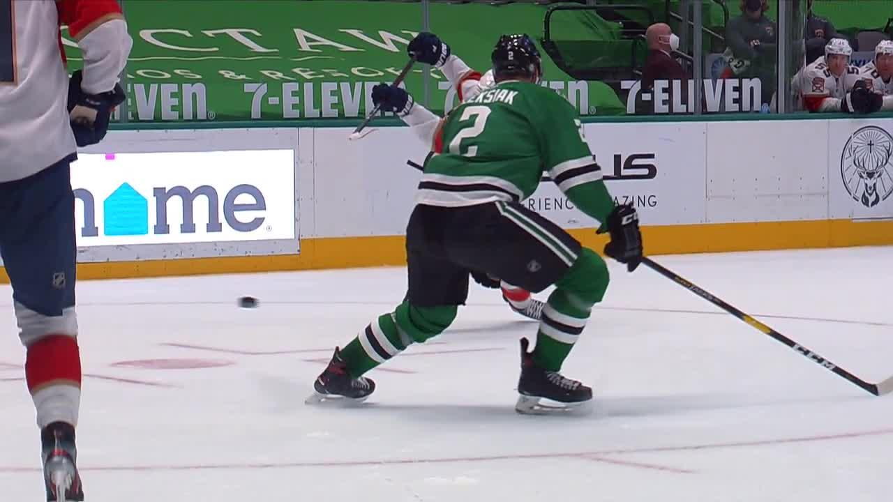 a Goal from Dallas Stars vs. Florida Panthers
