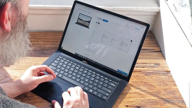 First look at the Microsoft Surface Laptop 4