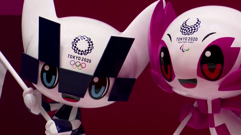 Japan unveils Olympic mascots