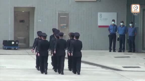 消防處開放日示範救火 副處長楊恩健:中式步操會引到各儀式