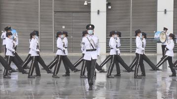 消防入境處舉辦國安教育日活動 向公眾展示中式步操