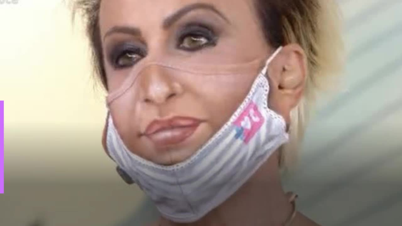 Ana Maria Braga assusta com máscara inusitada e passa mal ao vivo após desafio