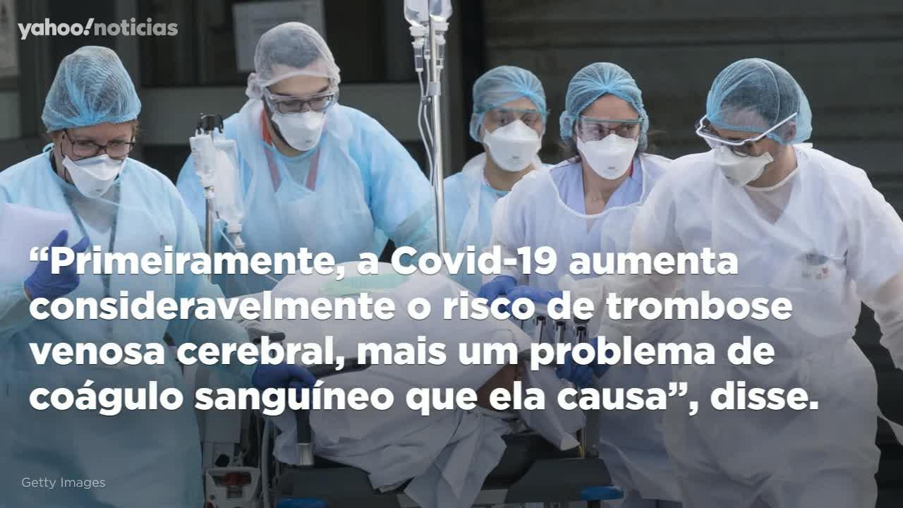 Risco de coágulo raro é até 10x maior pós-Covid do que depois da vacina