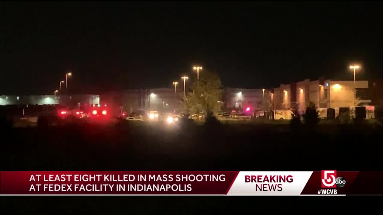 news.yahoo.com: 8 killed in mass shooting at FedEx facility in Indianapolis