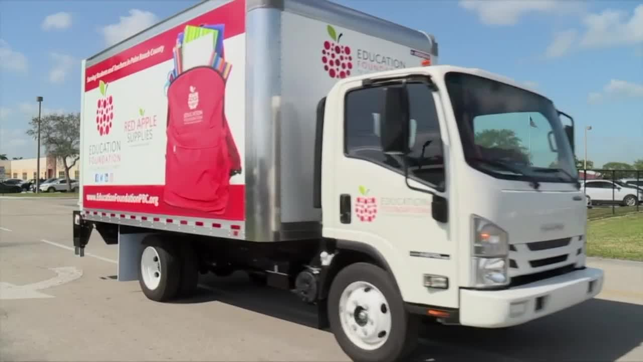 news.yahoo.com: Education Foundation of Palm Beach County delivers much-needed school supplies to teachers