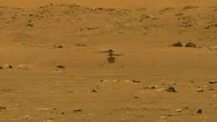 news.yahoo.com: Ingenuity becomes first-ever craft to fly on Mars