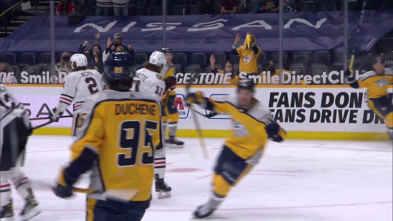 Erik Haula with a Goal vs. Chicago Blackhawks