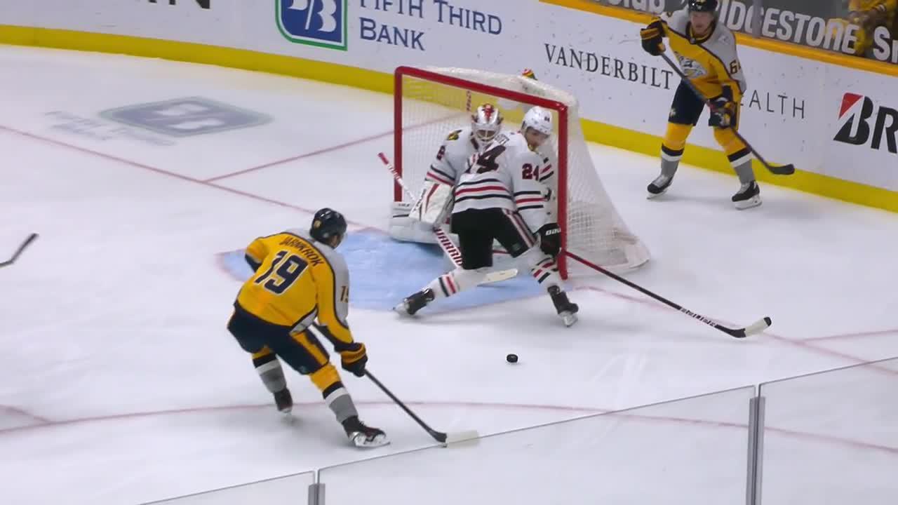 Calle Jarnkrok with a Goal vs. Chicago Blackhawks