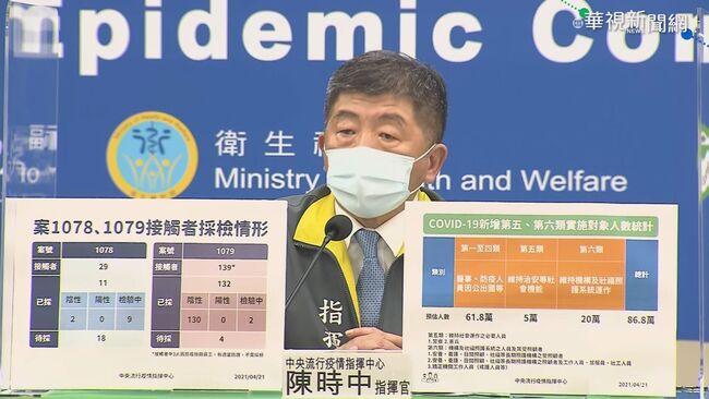2國籍機師染疫 陳時中:本土感染機率低