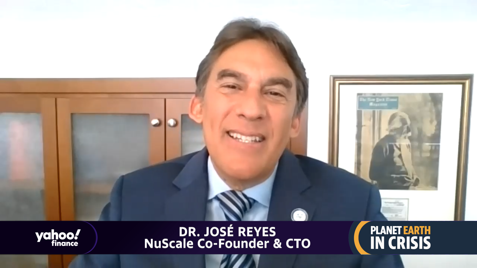 Co-founder of NuScale and CTO dr.  José Reyes on the future of nuclear energy