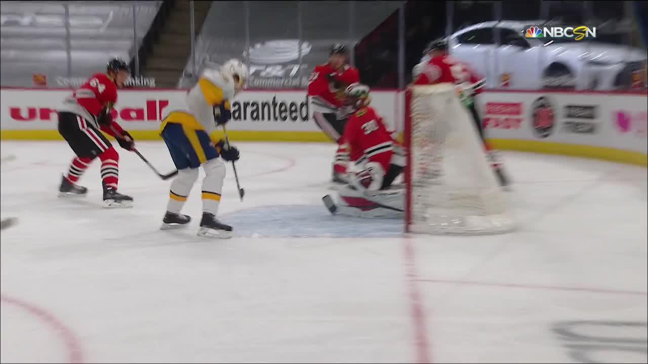 Eeli Tolvanen with a Goal vs. Chicago Blackhawks