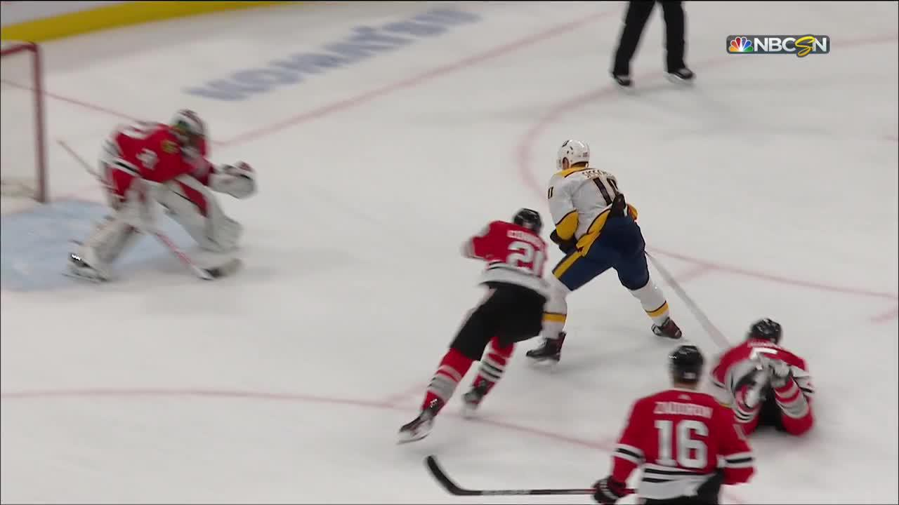 Colton Sissons with a Goal vs. Chicago Blackhawks