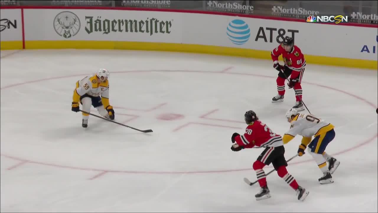 Wyatt Kalynuk with a Goal vs. Nashville Predators