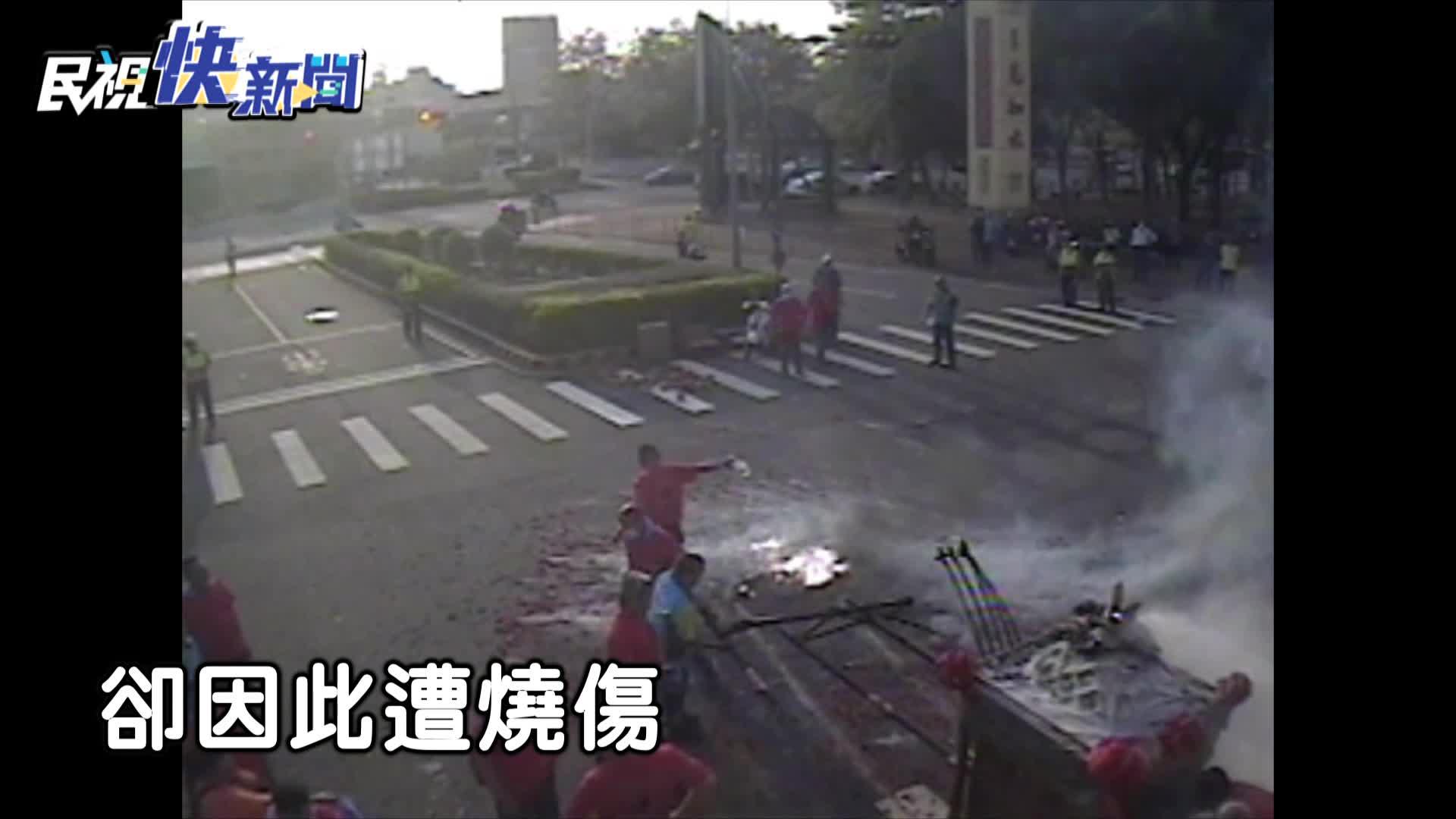 快新聞/「炸神轎」致大火 轎班人員嚇壞四處逃竄