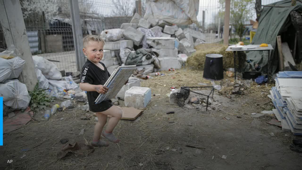 Romania's 'modern slaves' who burn trash for a living