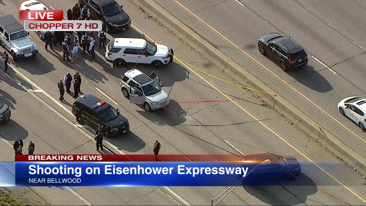 Inbound I-290 lanes closed near 25th Avenue after shooting