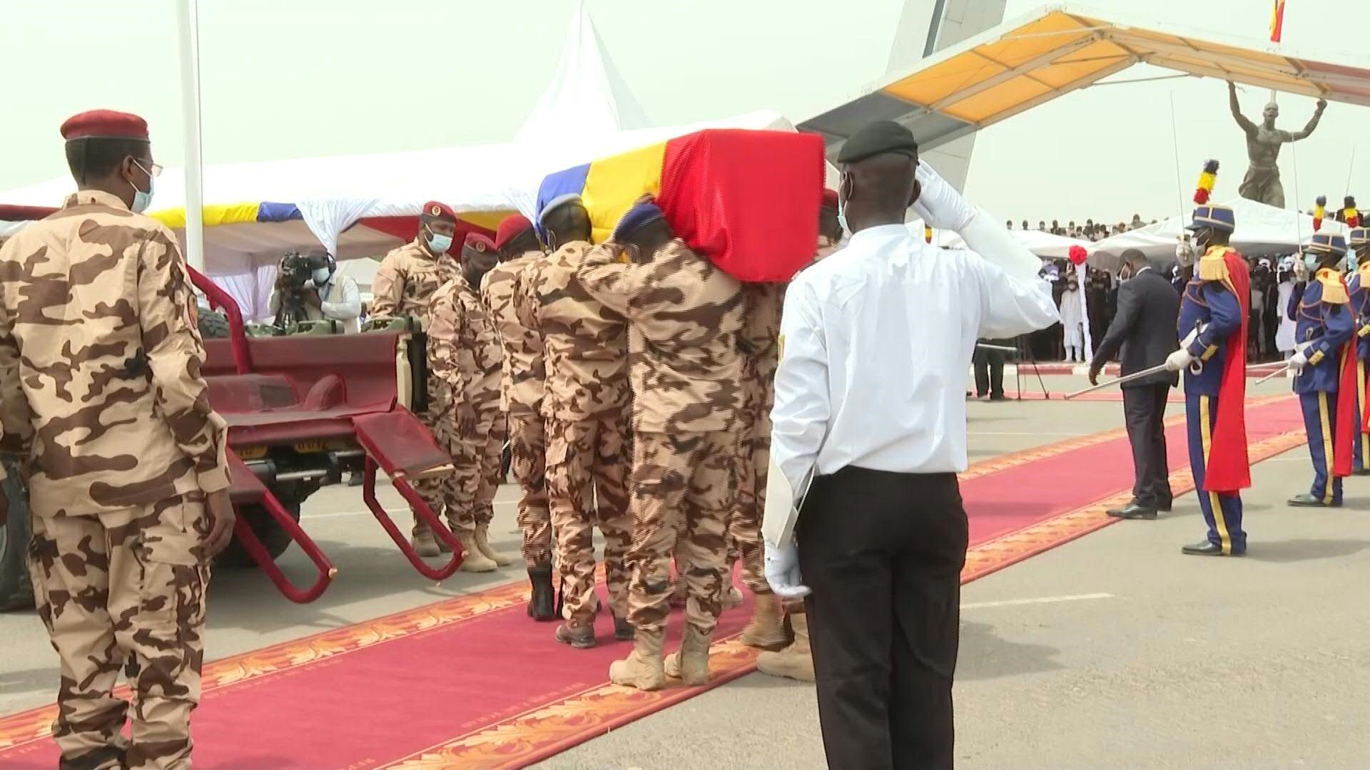 Chad buries President Idriss Deby