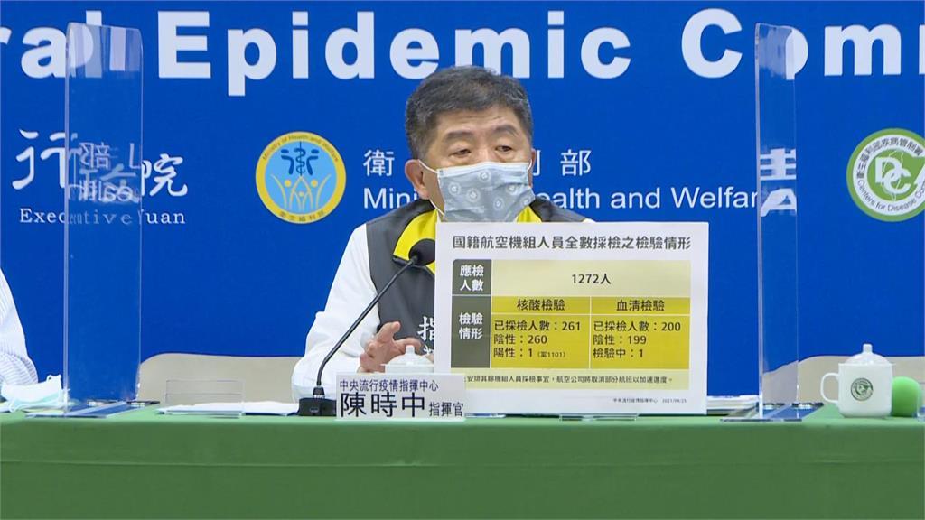 快新聞/加驗華航機組員血清抗體 每日200名「提供打疫苗服務」
