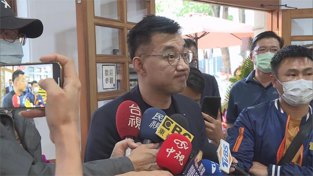 快新聞/韓國瑜成選黨主席對手? 江啟臣:哈哈