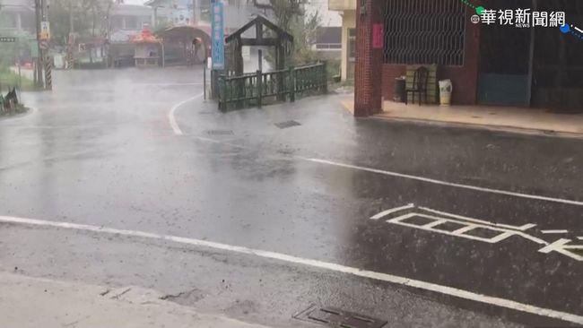 午後日月潭下大雨 對水庫幫助卻不大