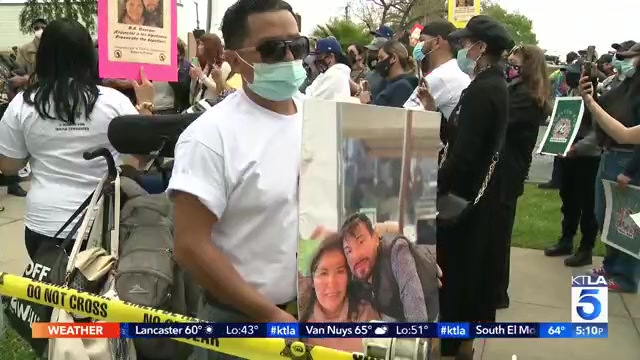 news.yahoo.com: Family and disability advocates rally in L.A. demanding justice after arrest of man with special needs